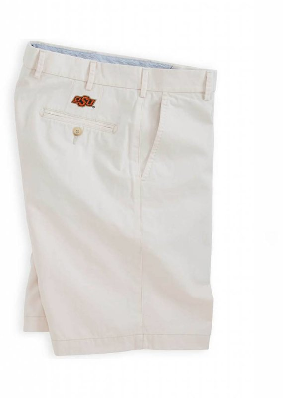 Peter Millar Collegiate Winston Washed Twill Short