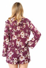 Floral Layered Short