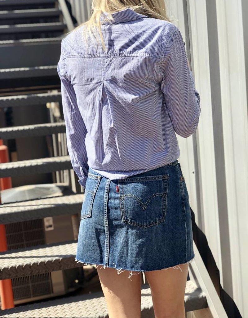 Levi Strauss & Co. Deconstructed Skirt