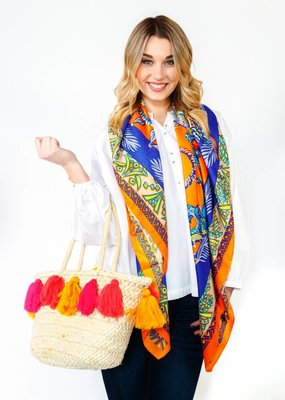 Vivi Designs Silk Scarf