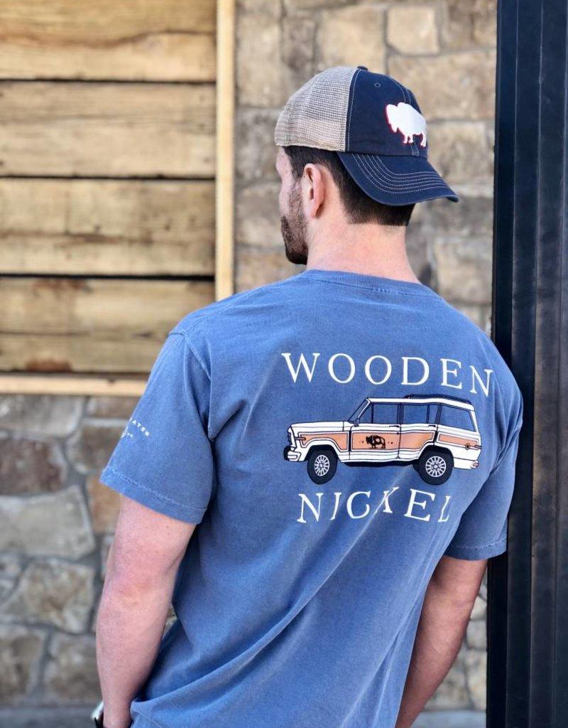 Wooden Nickel Co. Buffalo Trucker Cap