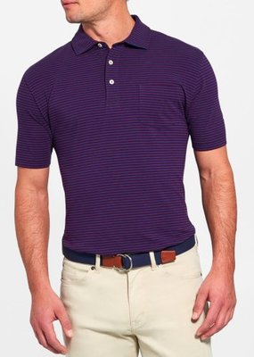 Peter Millar Dewey Seaside Stripe Polo
