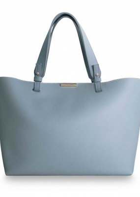 Katie Loxton Piper Soft Tote Bag, Powder Blue