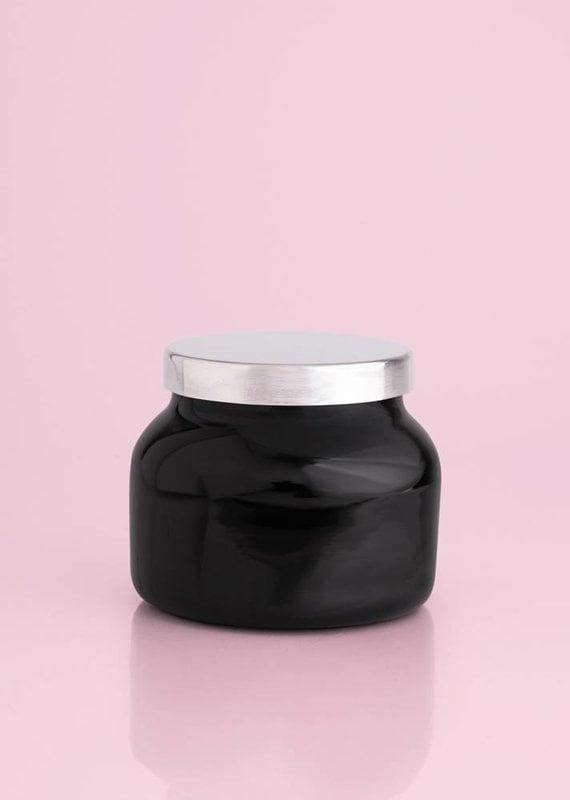 Capri Blue 8oz Black Petite Jar-Volcano NO. 6