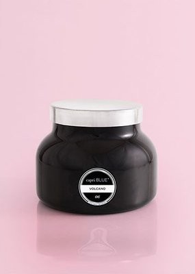 Capri Blue 19 oz. Black Signature Jar Volcano NO. 6