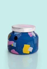 Capri Blue 8oz Gallery Blue Jar-Volcano