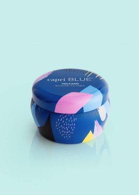 Capri Blue 3oz Gallery Blue Mini Jar- Volcano