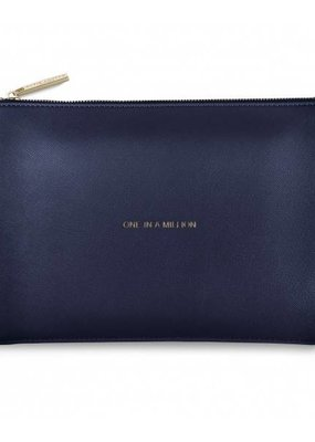 Katie Loxton One In A Million Navy Perfect Pouch