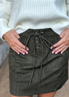 Sage the Label Aura Mini Skirt