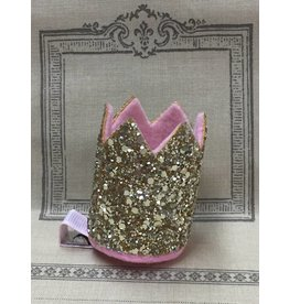 Gold Crown Hair Clip