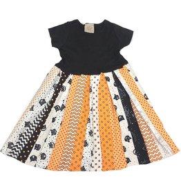 Halloween Strips Dresses