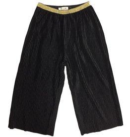 Black Velvet Culottes