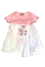 E Addie Monogram One Piece 18-24mos