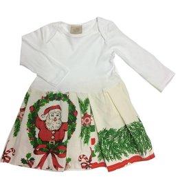 Custom Dress White l/s 18-24mos