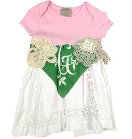 G Addie Monogram One Piece 6-12mos