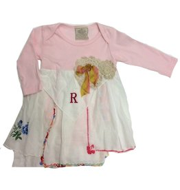 R Addie Monogram One Piece 3-6mos