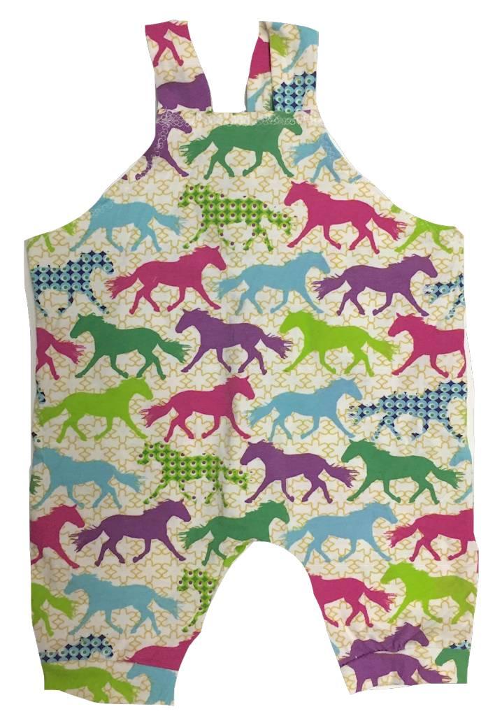 Bright Unicorn Jersey Romper