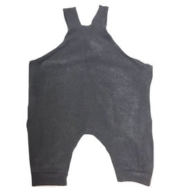 Charcoal Jersey Romper