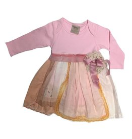 Custom One Piece Pink l/s 12-18mos