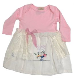 Custom Dress Pink l/s 12-18mos