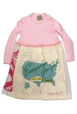 Custom Dress Pink l/s 2-3yrs