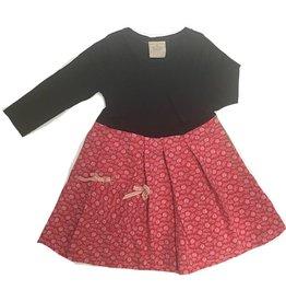 Xmas Dress 2-3yrs Black l/s
