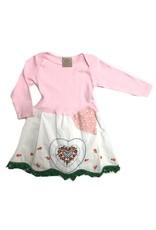 Custom Dress Pink l/s 18-24mos