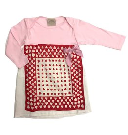 Custom Dress Pink l/s 18-24mos