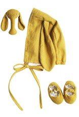 Linen Baby Accessories Set