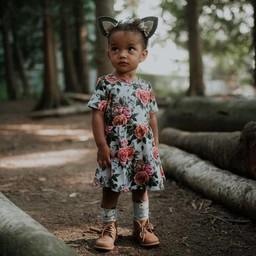 Little & Lively Little & Lively - Robe Daphne/Daphne Dress, Antique Floral