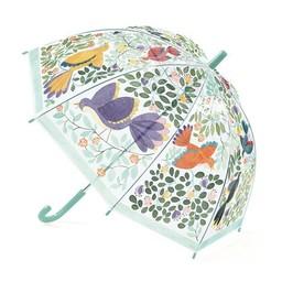 Djeco Djeco - Parapluie/Umbrella, Fleurs et Oiseaux/Flowers and Birds