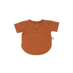 Little Yogi Little Yogi - Chandail/T-Shirt, Plage Rouge/Red Beach