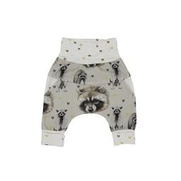 Little Yogi Little Yogi - Grow With Me Pants, Raccoon