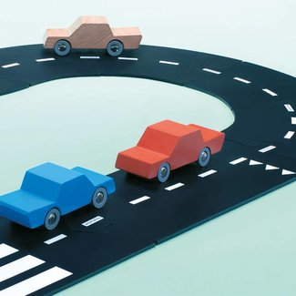 Waytoplay Way to Play - Route Flexible Autoroute, 24 Pièces