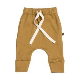 Kidwild Organics Kidwild Organic - Pantalons avec Cordons Vintage/Drawstring Vintage Pants, Ocre/Ochre