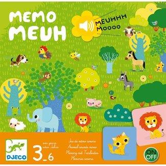 Djeco Djeco - Mémo Meuh/Memo Meuh