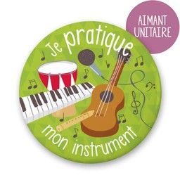 Minimo Minimo - Aimants à l'unité/Single Magnets, Instrument