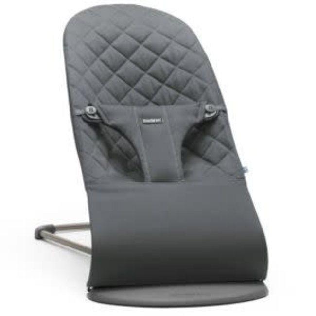 BabyBjörn BabyBjörn - Coton Bouncer Bliss, Anthracite