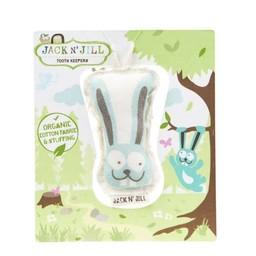 Jack&Jill Jack & Jill - Peluche pour Garder les Dents/Tooth Keeper, Lapin/Bunny