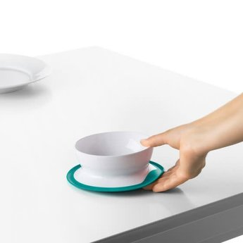OXO OXO - Bol à Ventouse/Stick & Stay Bowl, Sarcelle/Teal