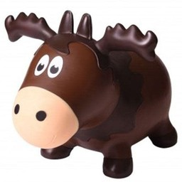 Farm Hoppers Farm Hoppers- Ballon Sauteur/Jumping Animals, Orignal/Moose