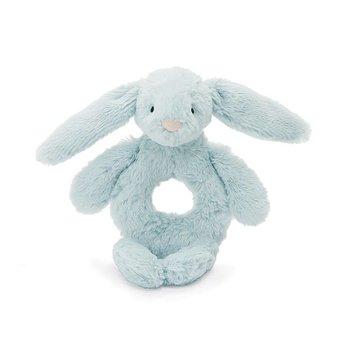 Jellycat Jellycat - Hochet Lapin Bashful/Bashful Bunny Grabber, Bleu 6''/Blue 6''