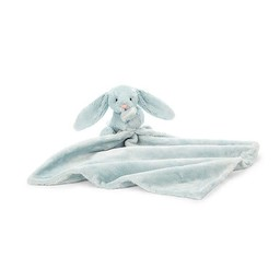 Jellycat Jellycat - Toutou-Doudou Lapin Bashful/Bashful Bunny Soother, Bleu Pâle/Light Blue