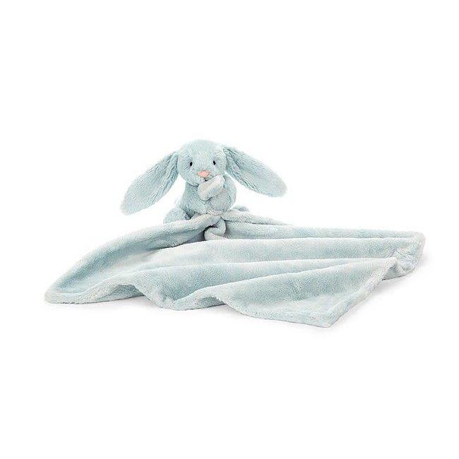 Jellycat Jellycat - Toutou-Doudou Lapin Bashful/Bashful Bunny Soother, Bleu Pâle/Light Blue