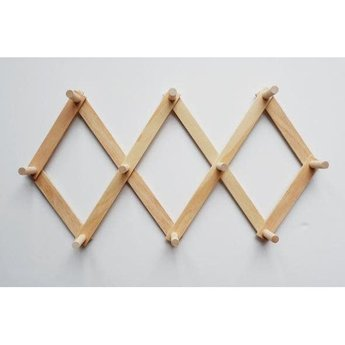 Minika Minika - Support Accordéon en Bois/Wooden Accordion Support, Grand/Large