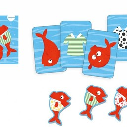 Djeco Djeco - Jeu de Rapidité Aquatique Spidifish/Aquatic Speed Game Spidifish
