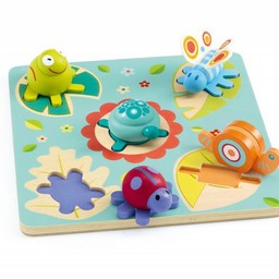 Djeco Djeco - Casse-Tête en Bois/Wooden Puzzle, Lilo