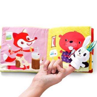 Lilliputiens Lilliputiens - Little Rabbit Dentist Book