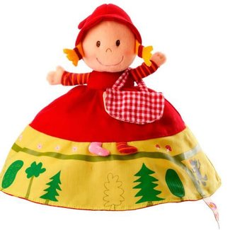 Lilliputiens Lilliputiens - Reversible Red Riding Hood Puppet