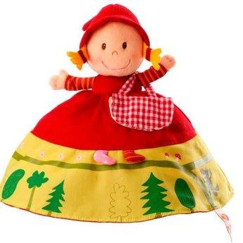 9e21688804f6 ... Lilliputiens Lilliputiens - Chaperon Rouge Marionnette  Réversible Reversible Red Riding Hood Puppet ...